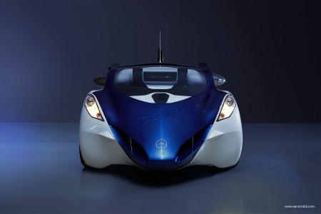 Aeromobil no formato automóvel