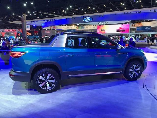 Tarok é a proposta de picape média da Volkswagen
