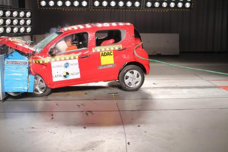 Fiat Mobi foi reprovado no crivo do Latin NCAP