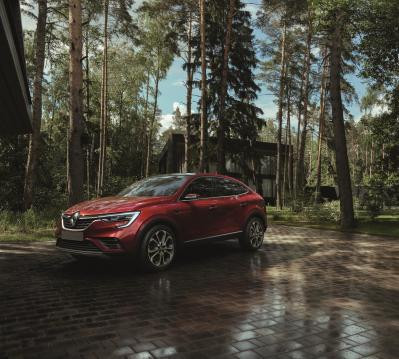 Renault Arkana começa sua trajetória na Rússia.