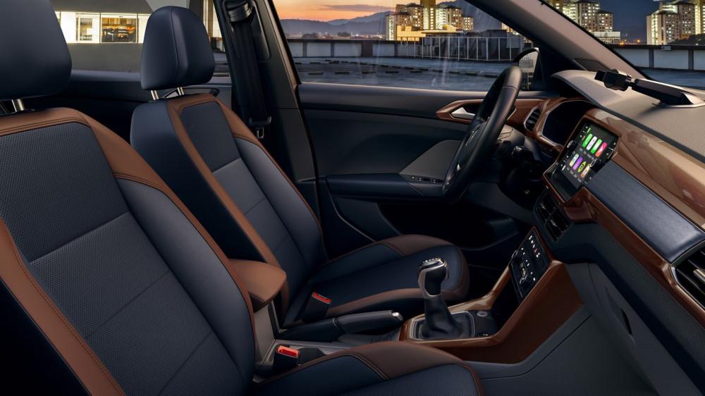 Volkswagen aposta na alta conectividade do T-Cross para conquistar jovens consumidores.
