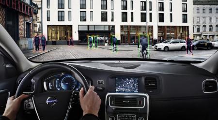 Carros Volvo tem agora sistema que dectecta e impede atropelamento de pedestre e cilclista