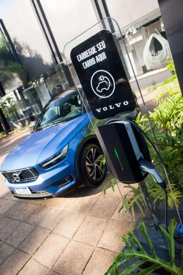 São 700 eletropostos Volvo espalhados pelo País. Meta é chegar a 1 mil até o final de 2021.