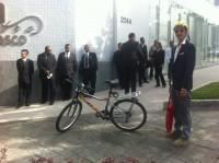 Hora das bicicletas