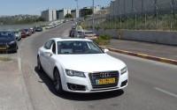 Carro que anda sozinho faz testes em Israel