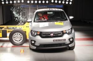 LatinNCAP reprova Fiat Mobi e Kia Sedan